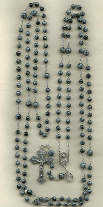 15 decade stone rosary