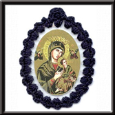 Blessed Mother Relic Badges