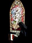 carmelite monastery chapel angel window
