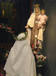 carmelite novice our lady of mount carmel