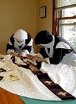 carmelite sisters sewing vestments