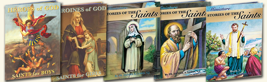 catholic children's books, saint books, books for kids