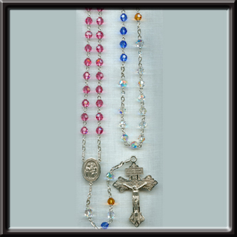 Multi-colored Birth Stone Rosary