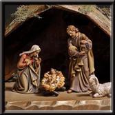 Woodcarved Nativity Sets