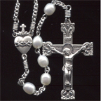 Small Pearl Rosary