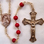 Bamboo coral rosary, coral rosary