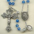 Blue Onyx Rosary