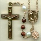 Mahogany Rosary