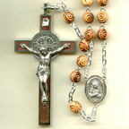 Large Olive Wood Rosary