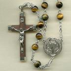 Tigerseye Rosary