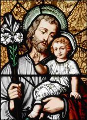 St. Joseph Suncatcher