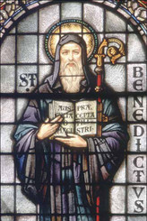 St. Benedict Suncatcher