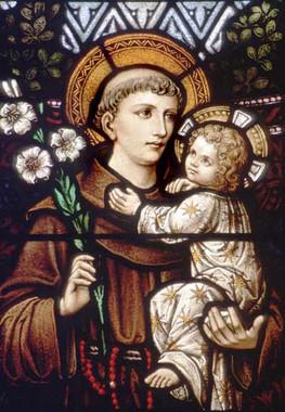 St. Anthony of Padua Sacred Suncatcher