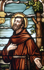 St. Francis Suncatcher