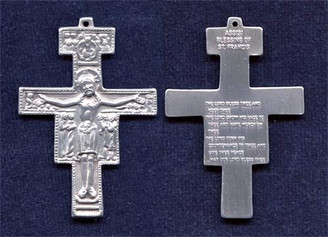 "San Damiano Crucifix - 2"" - Sterling Silver"