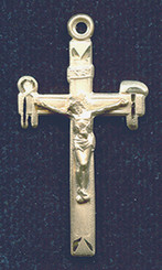 "La Salette Crucifix - 1.375"" - Gold Filled"