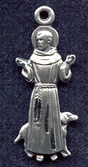 St. Francis of Asissi medal