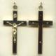 Ebony and Brass Crucifix