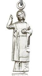 St. Stephan figurine medal