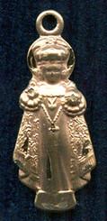 "Holy Infant Figurine - 1"" - Gold Filled"