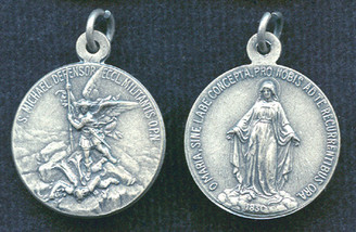 St. Michael Medal / Miraculous Medal