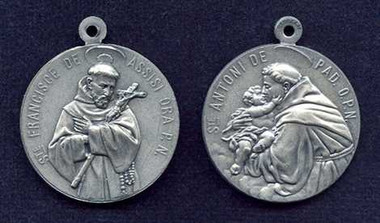 St. Francis / St. Anthony Medal