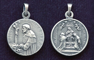 St. Dominic / Our Lady of the Rosary Medal