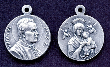 St. Pius X / Our Lady of Perpetual Help Medal
