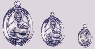 """1-1/8"""", 3/4"""", 1/2"""" Patron Saint Medals"""