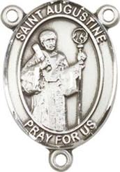 "St. Augustine - .75"" Oval - Pewter Centerpiece"
