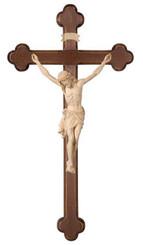 Natural Wood Siena Baroque Wall Crucifix