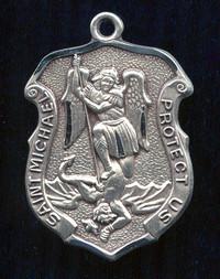 Large St. Michael Shield Medal
