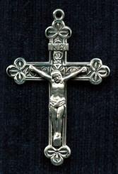 Fancy Clover Crucifix