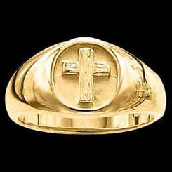 Rugged Cross Ring