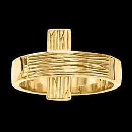 Rugged Cross Ring - Gents