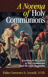 Novena of Holy Communions Book