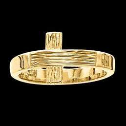 Rugged Cross Ring - Ladies