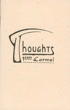 Thoughts from Carmel, Volume I Booklet
