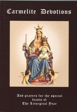 Carmelite Devotions Book