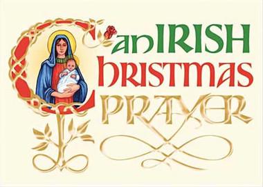 An Irish Christmas Prayer Card