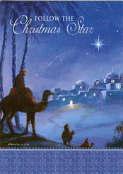 Follow the Christmas Star Christmas Card