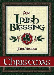 Irish Blessing Christmas Card