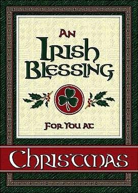 Irish Blessing Christmas Card