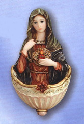 Immaculate Heart of Mary Holy Water Font
