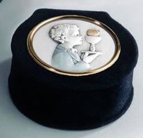 First Holy Communion Rosary Box for a boy