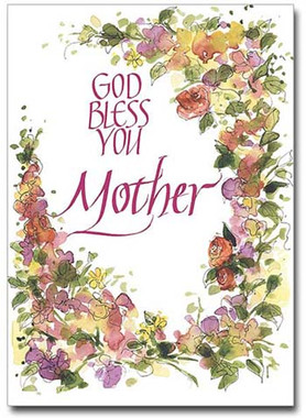 Sisters of carmel god bless you mothers day greeting card mothers day card m4hsunfo