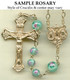Gold Filled Sample Rosary