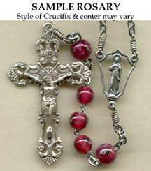 Nickel Silver Sample Rosary