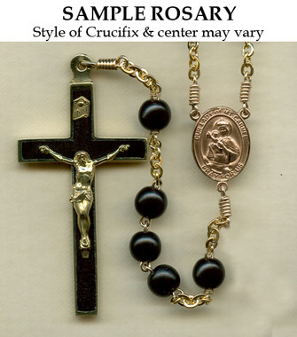 Gold Filled Rosary Sample