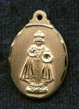 Holy Infant of Prague Medal